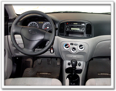 Interior Hyundai Accent